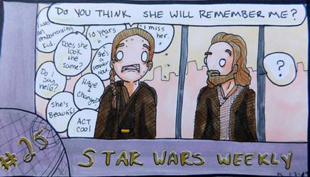 STAR WARS WEEKLY #25 by evangeline40003