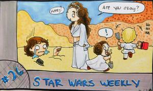 STAR WARS WEEKLY #26 by evangeline40003