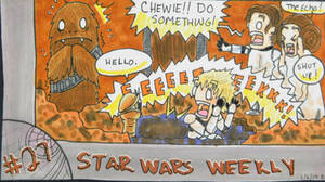 STAR WARS WEEKLY #27 by evangeline40003