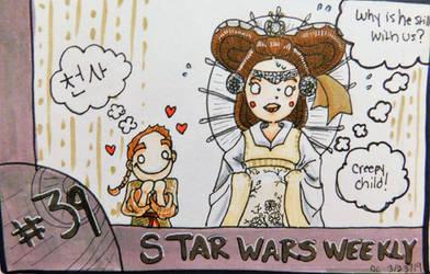 STAR WARS WEEKLY #39 (Return from hiatus!) by evangeline40003