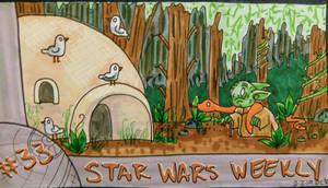 STAR WARS WEEKLY #33 by evangeline40003