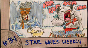 STAR WARS WEEKLY #34 by evangeline40003