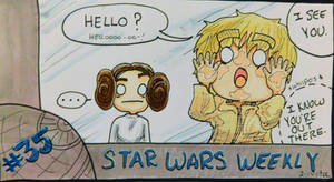 STAR WARS WEEKLY #35 by evangeline40003