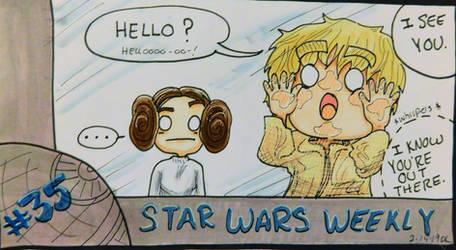 STAR WARS WEEKLY #35 by evangeline40003
