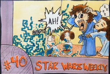 STAR WARS WEEKLY #40 by evangeline40003