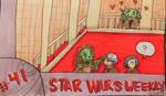 Star Wars Weekly # 41 by evangeline40003