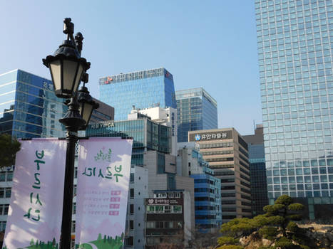 Myeondong by evangeline40003