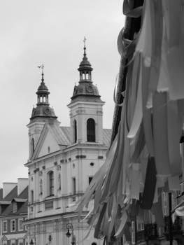 Warsaw, Poland Black and White