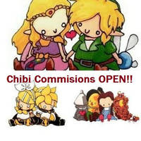 Chibi Commissions are OPEN