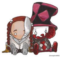 Chibi Commission: Robot Clown