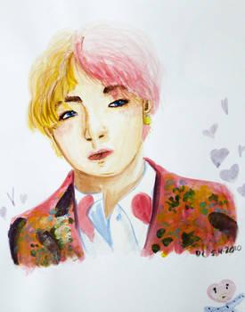 Kim Taehyung Watercolor