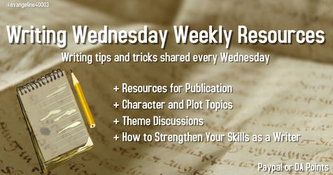 Writing Wednesday Weekly Resources