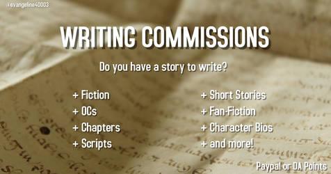 Writing Commissions