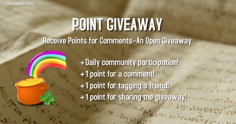 Open Point Giveaway (Read the Description!)