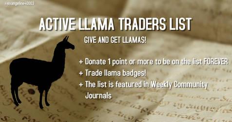 Active Llama Traders List