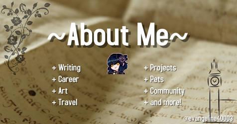 About Me ~ Artist Bio