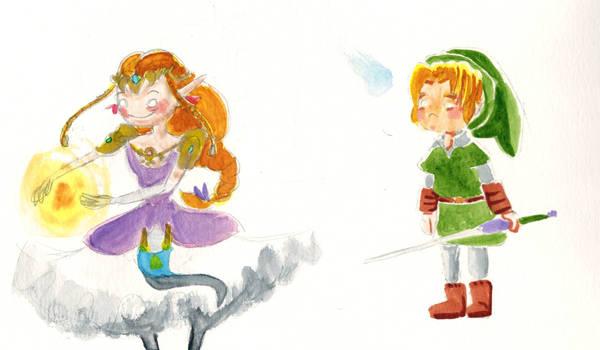 The Legend of Zelda Paint Practice