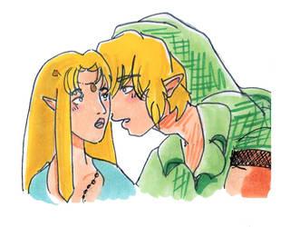 Link x Zelda Doodle