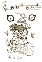Skullkid Sketch by DDT87