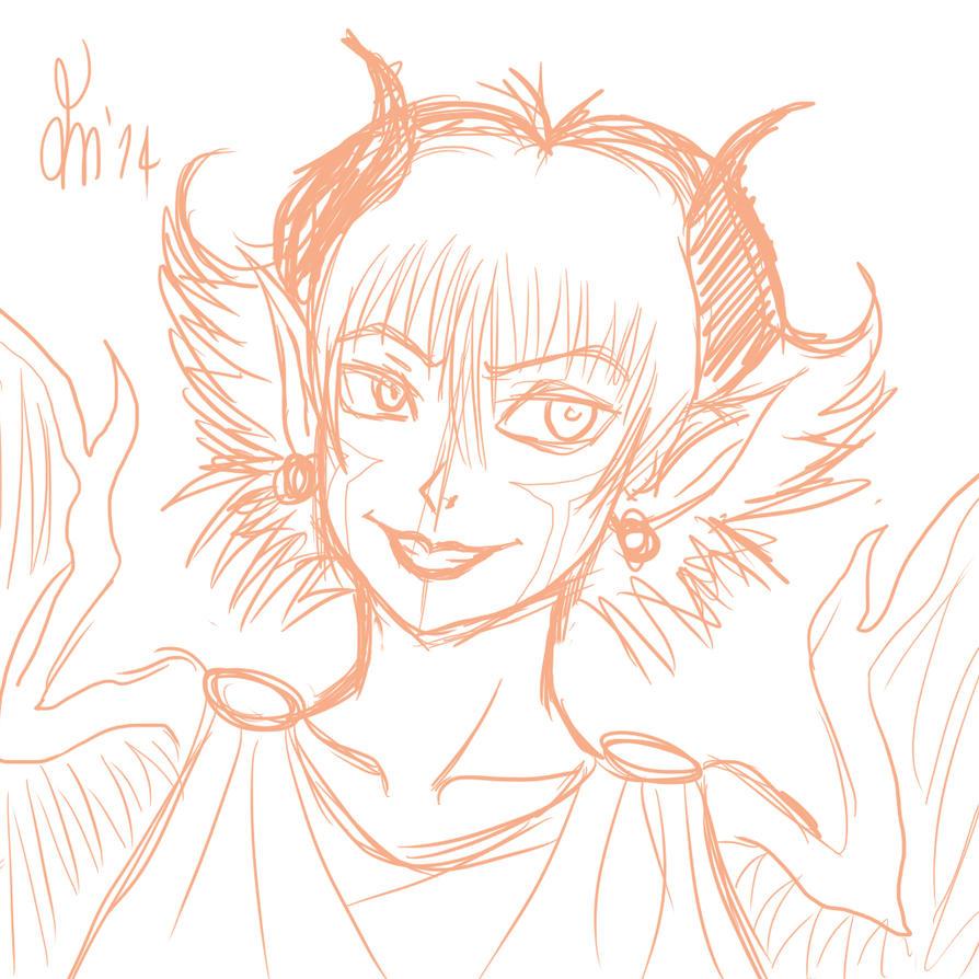 Random Monster Girl by DDT87