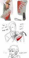 The Bloody Handbag by Vivalski