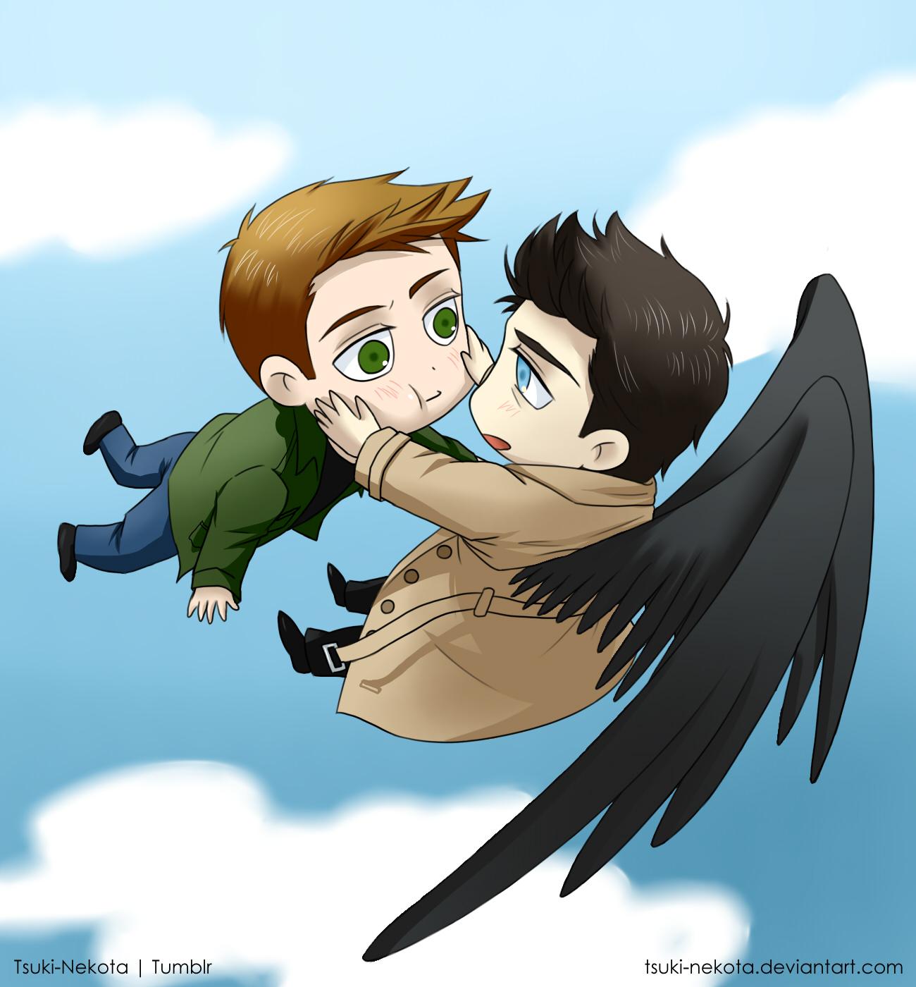 The angel who fell in love by Vivalski