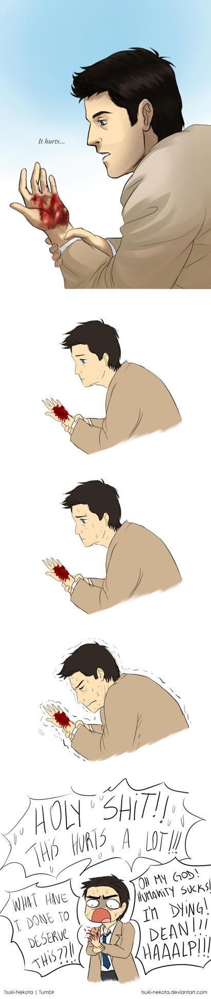 It hurts by Tsuki-Nekota