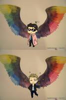 Gay angels by Vivalski