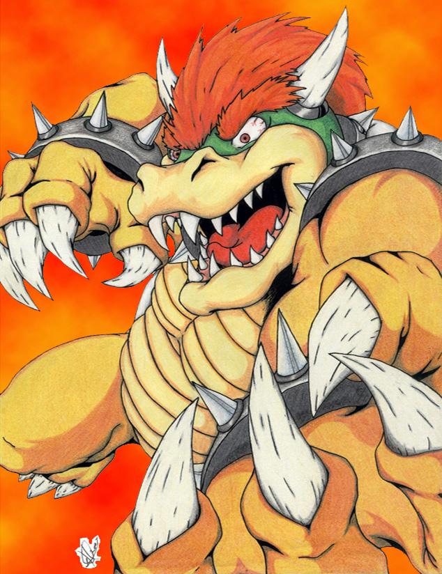 Vicious Bowser by ShinFox