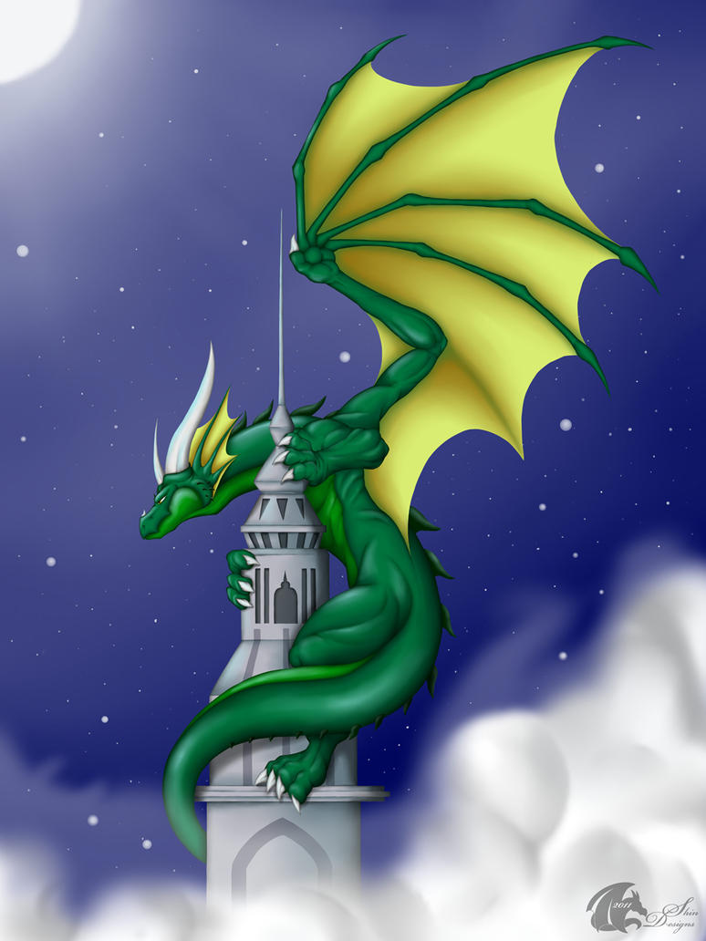 Dragon's Tower by ShinFox