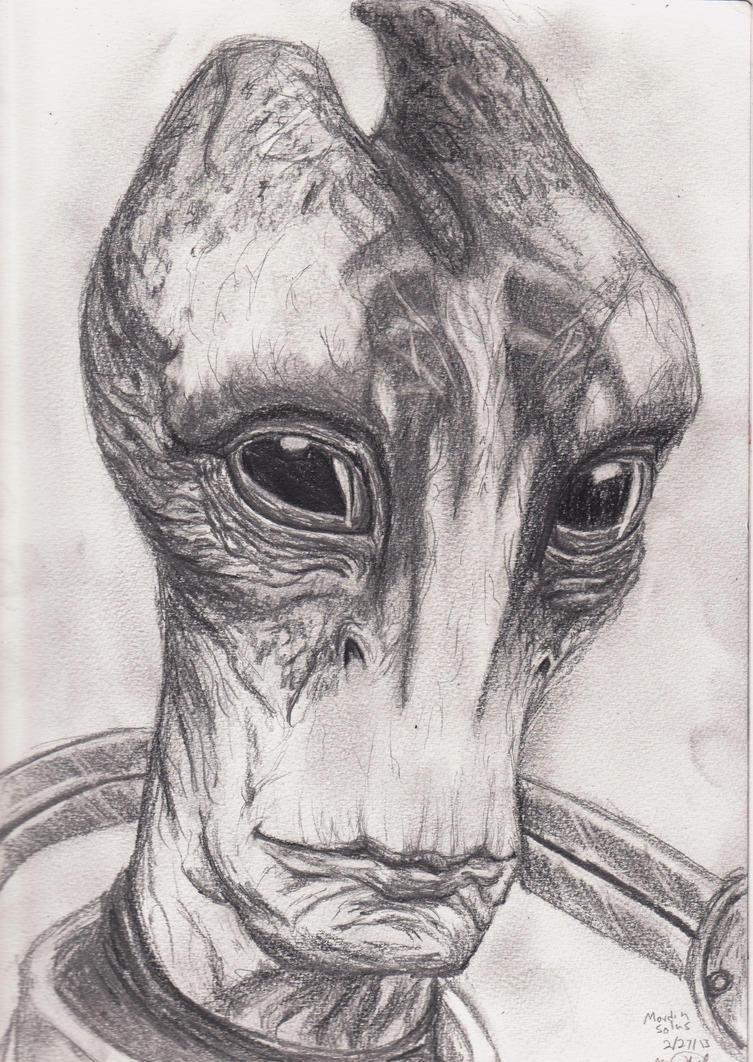 Dr. Mordin Solus by Leoma-silfren