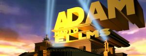 AdaMario Films logo (1994 TCF prototype style)