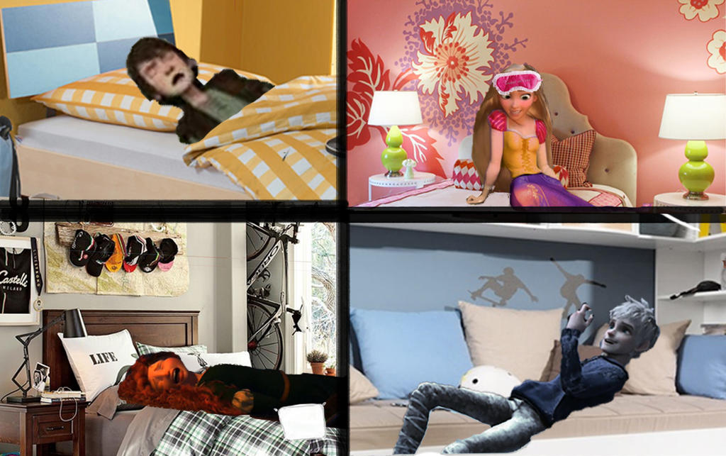 Modern Big Four-wake Up! Today Is School! by fantasydreamtima