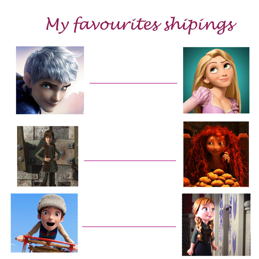 My favourite shipings by fantasydreamtima