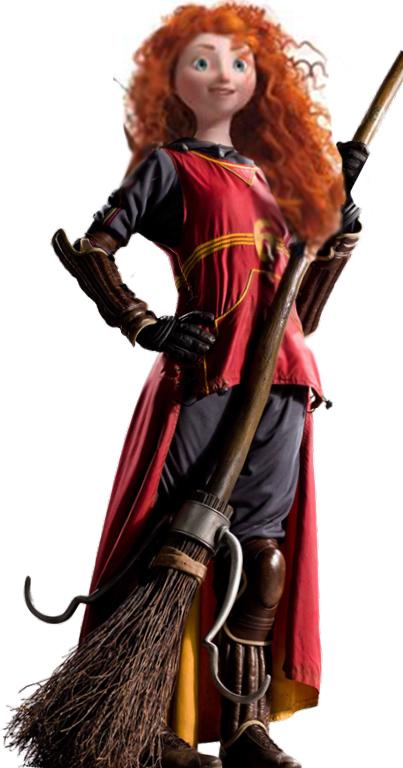 Merida-hogwarts by fantasydreamtima on DeviantArt