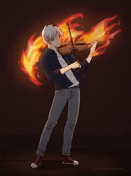 Todoroki- Inner Fire by fantasydreamtima