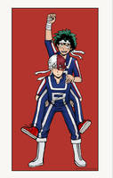 Tododeku Piggyback-race by fantasydreamtima