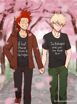 Kiribaku- Keep him