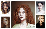 Realistic Challenge#1 Curly Redhead by fantasydreamtima