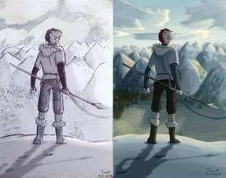 [Tribal AU] Todoroki - comparison by fantasydreamtima