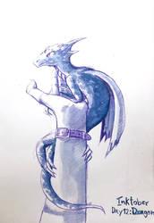 Inktober Day: 12 Dragon