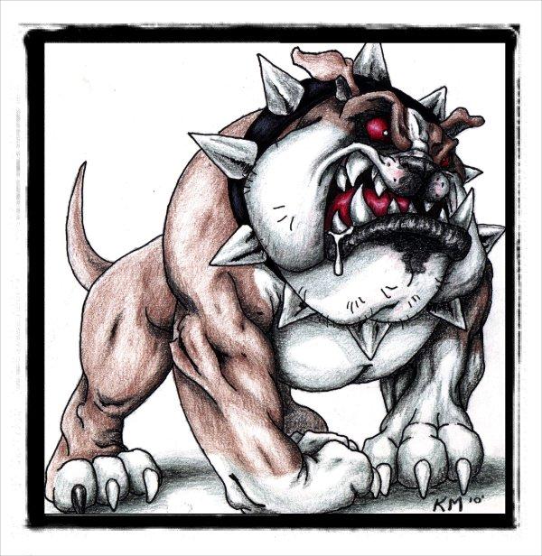 The Bulldog by morr76