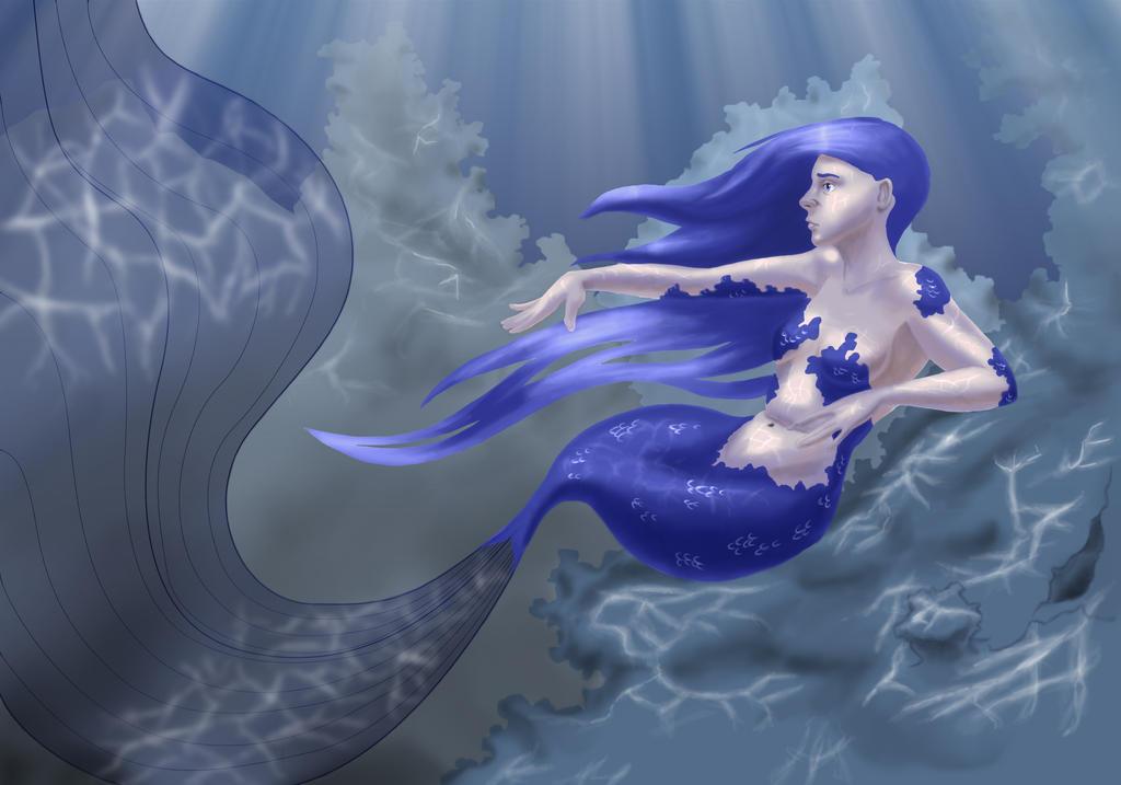 Mermaid WIP by artificus