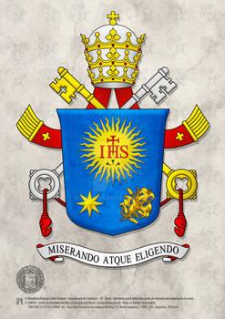 Heraldry Pope Francis - (Tradicional Design)