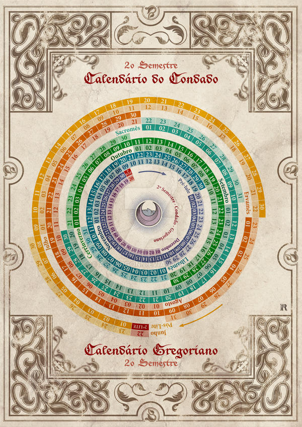 shire calendar 2st half every year disk by aglargon on deviantart