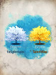 Telperion and Laurelin