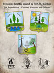 EXCLUSIVE three heraldic devices by Tolkien