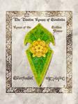 Middle-earth heraldry: Glorfindel (Golden Flower)