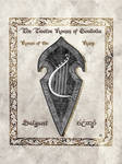 Middle-earth heraldry: Salgant (Harp)