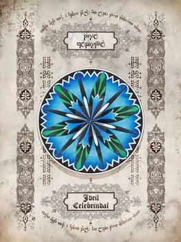Silmarillion heraldry: Idril Celebrindal